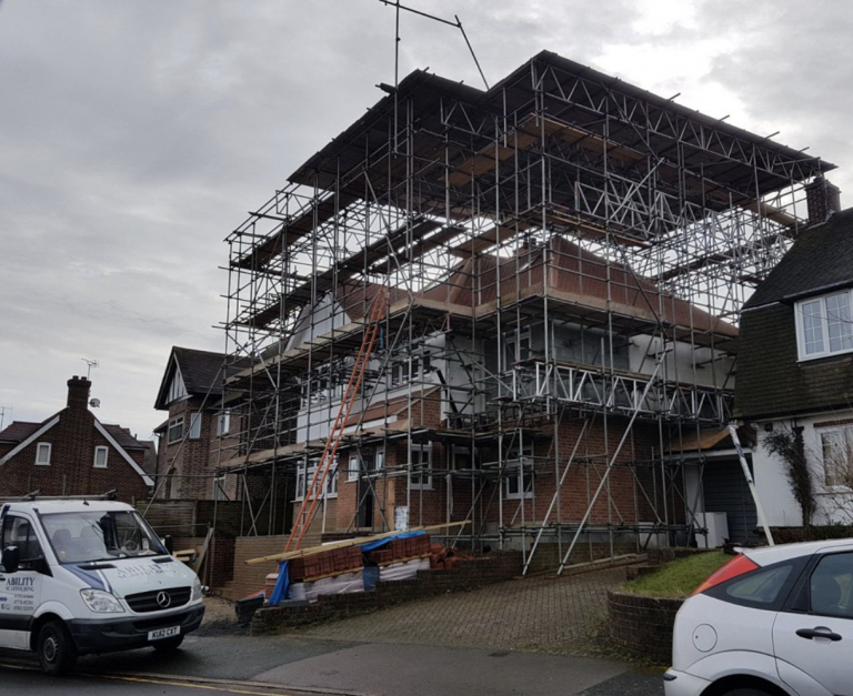 Domestic Scaffolding Kent and Maidstone - Ability Scaffolding